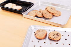 Bake Sale. Preparing Home Made Cookies For Bake Sale royalty free stock photo