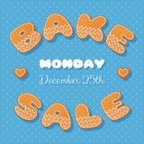Bake sale gingerbread Royalty Free Stock Image