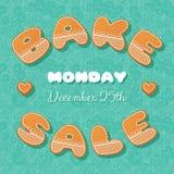 Bake sale gingerbread Stock Images
