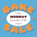 Bake sale gingerbread Stock Photography