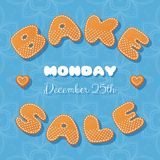 Bake sale gingerbread Royalty Free Stock Images