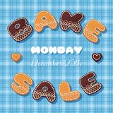 Bake sale gingerbread Royalty Free Stock Photography