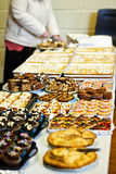 Bake sale. Public bake sale for charity Stock Photos