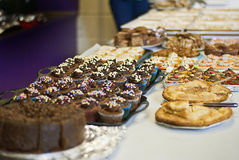 Bake sale. Public bake sale for charity royalty free stock image