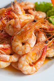 Bake shrimp Royalty Free Stock Images