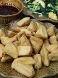 Bake tofu Stock Image