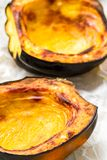 Baked acorn squash Royalty Free Stock Photo