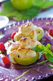 Baked apple. Sweet and sour dessert Royalty Free Stock Images