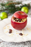 Baked apple Stock Images