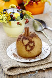 Baked apple Royalty Free Stock Images