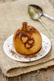 Baked apple Royalty Free Stock Photography