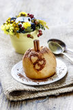 Baked apple Stock Photos