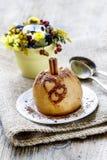 Baked apple Stock Photos