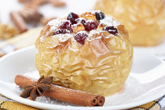 Baked apple Royalty Free Stock Image