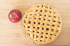 Baked apple pie Stock Photography