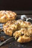 Baked apple pie Stock Photo