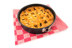 Baked apple pie Royalty Free Stock Image