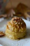 Baked apple Royalty Free Stock Photos