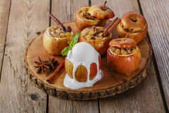 Baked apples Royalty Free Stock Photo