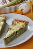 Baked artichoke pie Stock Image