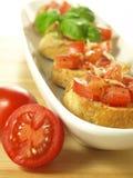 Baked baguette, closeup Stock Images