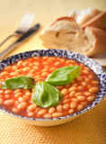 Baked Beans Royalty Free Stock Images