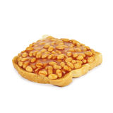 Baked beans. Royalty Free Stock Images