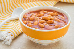 baked beans 库存图片