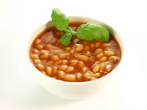 Baked beans, isolated Stock Photos