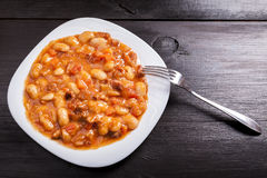 Baked beans Stock Image