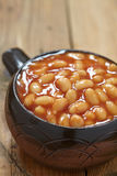 Baked beans Stock Photo
