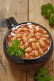Baked beans Stock Photography
