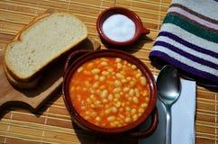 Baked beans Stock Photos