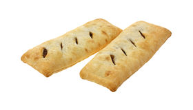 Baked Beef Turnovers Two Royalty Free Stock Photo