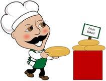 baked bread fresh Στοκ εικόνα με δικαίωμα ελεύθερης χρήσης