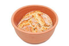 Baked bread Stock Images