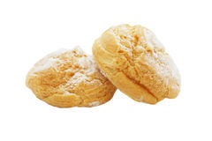 Baked  bread with icing Royalty Free Stock Photography