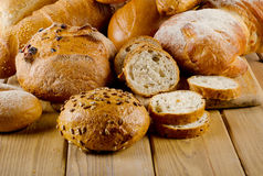 Baked bread Royalty Free Stock Photo