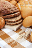 Baked Breads Stock Image