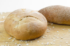 Baked Breads Closeup Royalty Free Stock Photography