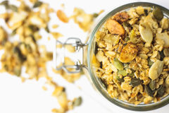 Baked breakfast cereals Stock Photography
