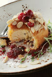 Baked brie appetizer Stock Photo