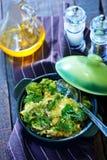 Baked broccoli Royalty Free Stock Photos