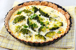 Broccoli tart Stock Image