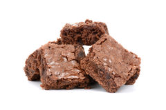 Baked Brownies Royalty Free Stock Photo
