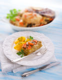 Baked cabbage rolls Royalty Free Stock Photos