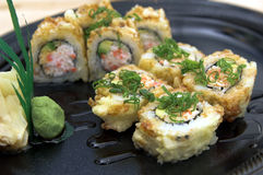 Baked California Roll Stock Image