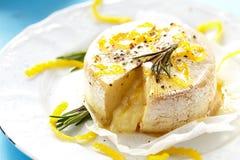 Baked camembert Stock Photos