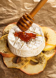 Baked camembert Royalty Free Stock Photo