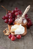 Baked Camembert cheese Royalty Free Stock Photo